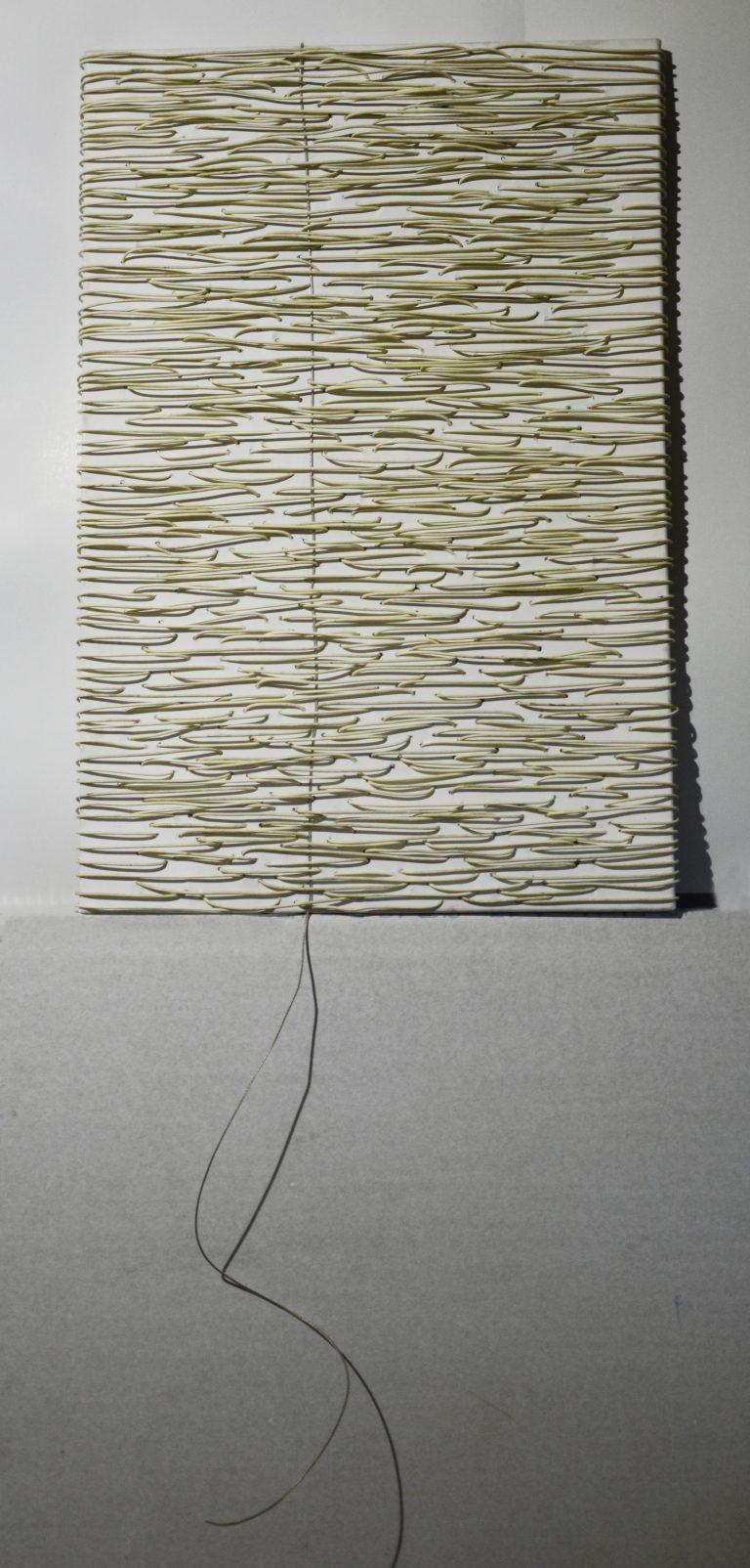 Silver line, 60 x 90cm